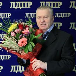 Прикольное поздравления с днем рождения от жириновского
